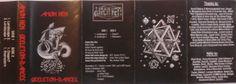 1995 Amon Hen - Skeleton-Dances (cassette) [Amon Hen] original artworks: M.C. Escher - Dragon (1952) & Stars (1948) #albumcover #inlay