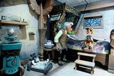Geppetto's home   Pinnocchio attraction   Fantasyland   Disneyland Paris