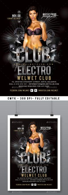Special Guest Dj Party  Dj Party Special Guest And Music Flyer
