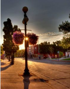 (love living on this side of town - p.mc.n.) West Grand Avenue - Eau Claire