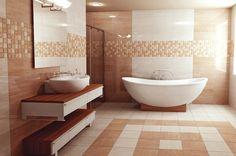 Zalakerámia - FIRENZE Corner Bathtub, Bathroom, Firenze, Home, Gamer Room, Wood, Washroom, Full Bath, Ad Home