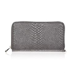 All About The Benjamins in City Charcoal Snake for $48 - Fashionable and functional, this new wallet has 13 interior card pockets, an ID window, flat pocket for bills, zipper closure and a D-ring to attach a Wristlet Strap. It�s a trendy look that�ll take you from day to night in style.  Via @thirtyonegifts