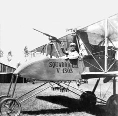 VOISIN 1303, Italian air force WW1 -pin by Paolo Marzioli