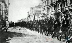 Gi 's in Vladivostok, 1918