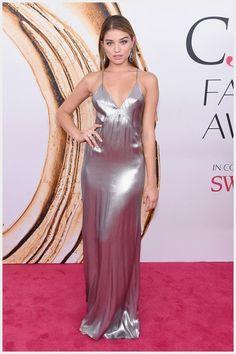 18 Elegant Silver Prom Dresses