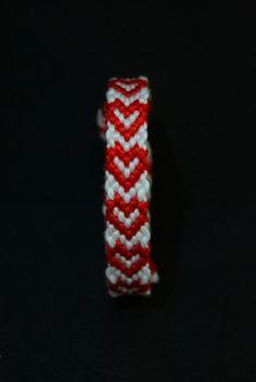 #Red #Hearts #Bracelet ... smells like #Christmas to me www.dawanda.com/shop/amanu #handmade #buyhandmade #hippiestyle