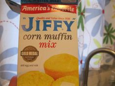 1 package of Jiffy Corn Muffin Mix 1 egg 2 tbsp. milk 1 can green chilies, drained a little – c. Green Chili Cornbread Recipe, Easy Mexican Cornbread, Mexican Cornbread Casserole, Jiffy Cornbread Recipes, Jalapeno Cheddar Cornbread, Sweet Cornbread, Cheddar Cheese, Canned Green Chilies, Corn Muffin Mix