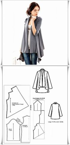 Amazing Sewing Patterns Clone Your Clothes Ideas. Enchanting Sewing Patterns Clone Your Clothes Ideas. T Shirt Yarn, T Shirt Diy, Diy Clothing, Sewing Clothes, Dress Sewing Patterns, Clothing Patterns, Pattern Sewing, Fashion Sewing, Diy Fashion