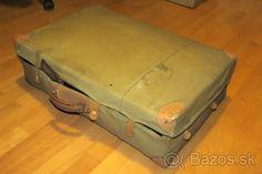 Retro- cestovny kufor značky KAZETO - 1 Retro, Suitcase, Retro Illustration, Briefcase