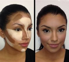 """leopardprintlashes: """" Don't forget to highlight and contour! Makes such a huge difference! """""""