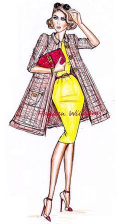 New fashion ilustration sketches clothing hayden williams ideas Hayden Williams, Illustration Mode, Fashion Illustration Sketches, Fashion Design Sketches, Design Illustrations, Moda Fashion, Fashion Art, New Fashion, Girl Fashion
