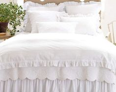Pine Cone Hill Bedding - Louisa White & Ivory