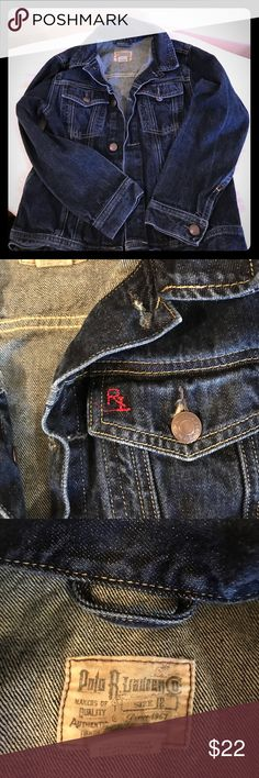 Polo Denim Jacket Dark denim jacket. Excellent condition Polo by Ralph Lauren Jackets & Coats Jean Jackets