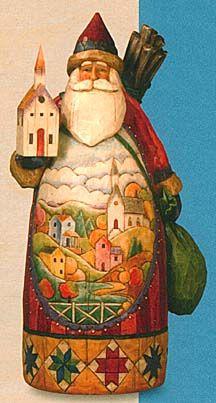Collecting Jim Shore Santa figurines