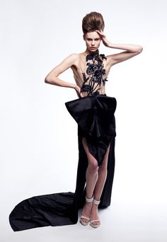 SS12 FYODOR GOLAN for Fashion Fringe - shot by and featured in Everzine, June 2012