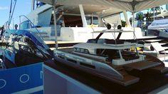 Lagoon Seventy 7 luxury sailing catamaran and coming soon Seventy 8 Motor yacht at Miami International Boat Show 2017 Caroline.laviolette@catamarans.com