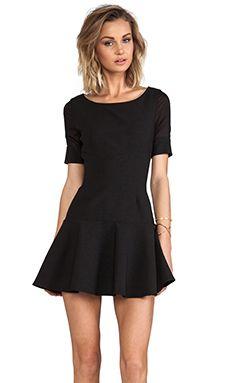 Elizabeth and James New Amalia Dress in Black | REVOLVE