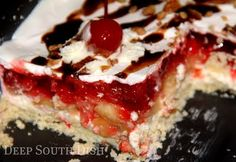 Deep South Dish: Layered Banana Split Dessert