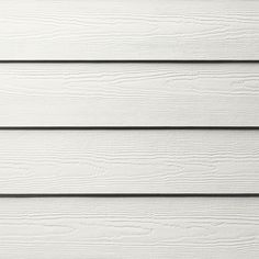James Hardie HardiePlank Primed Arctic White Cedarmill Lap Fiber Cement Siding Panel (Actual: 0.312-in x 6.25-in x 144-in)