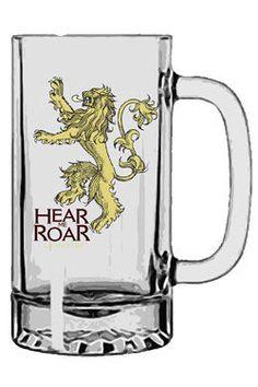 Game of Thrones Bierglas Lannister