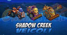 Shadow Creek: veicoli tempo stimato per la lettura di questo articolo 1  Ecco i veicoli della Shadow Creek!  Nellordine  Tractor  Seeder  Harvester  Orchard Harvester  Plot Remover  Combine  Biplane