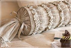 homemade neck pillow pattern | декоративные подушки валики своими ...
