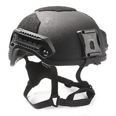 MaxPro MPA Gunfighter Helmet with Rails and NVG Shroud