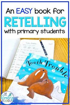 Retelling with Tooth Trouble - The Reading Roundup Retelling Activities, Comprehension Activities, Reading Activities, Kindergarten Activities, Teaching Reading, Guided Reading, Summarizing Activities, Reading Resources, Student Teaching