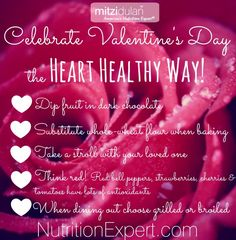 Create a Heart Healthy Valentines Day with these top tips!