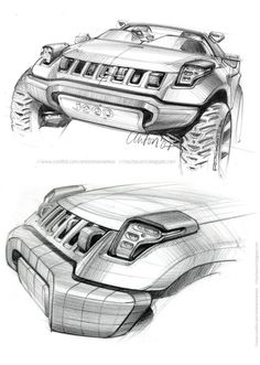 Daily Sketch: Jeep Renegade Concept by Anton Shamenkov  gallery: http://www.carbodydesign.com/featured-design-sketches/?utm_content=buffer21628&utm_medium=social&utm_source=pinterest.com&utm_campaign=buffer  Anton's work: http://www.coroflot.com/antonshamenkov/2008-Jeep-Renegade-Concept?utm_content=buffer30428&utm_medium=social&utm_source=pinterest.com&utm_campaign=buffer