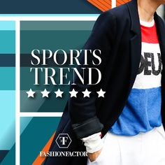 On this Tuesday of glamor, we bring for you one of the hottest trends of the season….. sport trend. The garments reinvent themselves to create more risky looks by mixing them with unexpected pieces. Visit us and discover more about this trend. Fashion Factor, because we love to be daring