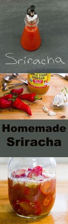 Homemade Sriracha - make your own at home!