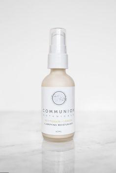 Communion Botanicals Clarifying Moisturizer Communion, Moisturizer, Shampoo, Skincare, Beauty, Beleza, Skincare Routine, Moisturiser, Skin Care