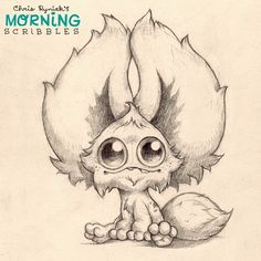 All ears.  #morningscribbles