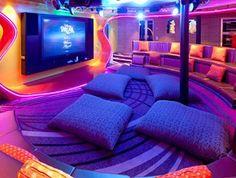 Vibe Teen Hangout aboard the brand new Disney Fantasy ship   #disney #cruising #travelocity #travel