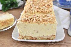 Biscuit Dessert Recipe, Dessert Recipes, Dessert Ideas, Italian Desserts, Biscotti, Vanilla Cake, Nutella, Sweet Recipes, Cheesecake
