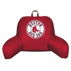 Boston Red Sox Bed Rest Backrest Reading Pillow