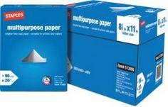 Free Printer Paper at Staples - Free Stuff Finder
