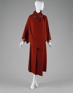 Jacques Doucet Ensemble, Silk, Wool and Glass, 1920-23