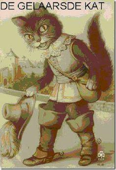 de Gelaarsde Kat boekomslag -