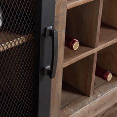 Lakeview Server in Vintage Pine Lake View, Adjustable Shelving, Door Handles, Pine, Cabinets, Cheer, Rustic, Holiday, Vintage