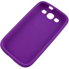 Silicone Skin Cover for #Samsung Galaxy S III, Purple $9.99 From #DayDeal
