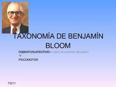 Taxonomía de Benjamín Bloom
