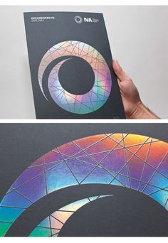 Showcase of Creative Print Designs with Hot Foil Stamping Holographic Print, Holographic Foil, Identity Design, Brochure Design, Brand Identity, Branding, Photographer Business Cards, Stamp Printing, Book Printing