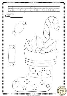 """Help your child develop their pre-writing and fine motor skills with «Christmas Trace and Color Pages"""" This .pdf file includes 14 Christmas themed Tracing and Coloring Worksheets. This is a perfect activity for your young artists. Christmas Crafts For Kids, Christmas Activities, Christmas Colors, Christmas Art, Crafts For Teens, Christmas Themes, Preschool Activities, Holiday Crafts, Arts And Crafts"""