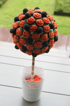 Arbol de chuches con Washi tape
