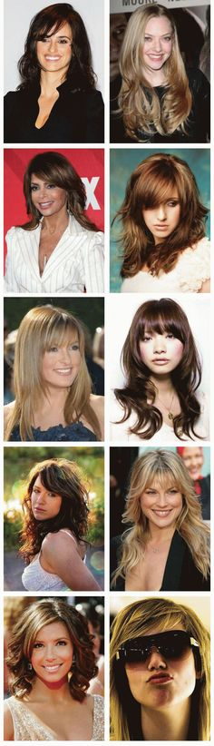 Long Locks With Bangs Hairstyles For Women Over 40, Well, long hair is always consider the beauty of a women and for her personality.