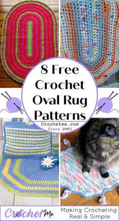 Crochet Mat, Crochet Carpet, Tapestry Crochet, Crochet Home, Crochet Crafts, Crochet Projects, Free Crochet, Yarn Projects, Crochet Ideas