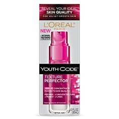 Youth Code™ Texture Perfector Serum Concentrate - Treatments - L'Oreal Paris  I love this, it works extremely well.