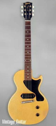 Gibson Les Paul Junior Not an Epi but owns Epi . Close enough Lone LP Jr's Guitar Shop, Cool Guitar, Archtop Guitar, Acoustic Guitar, Gibson Les Paul Jr, Les Paul Guitars, Guitars For Sale, Gibson Guitars, Beautiful Guitars